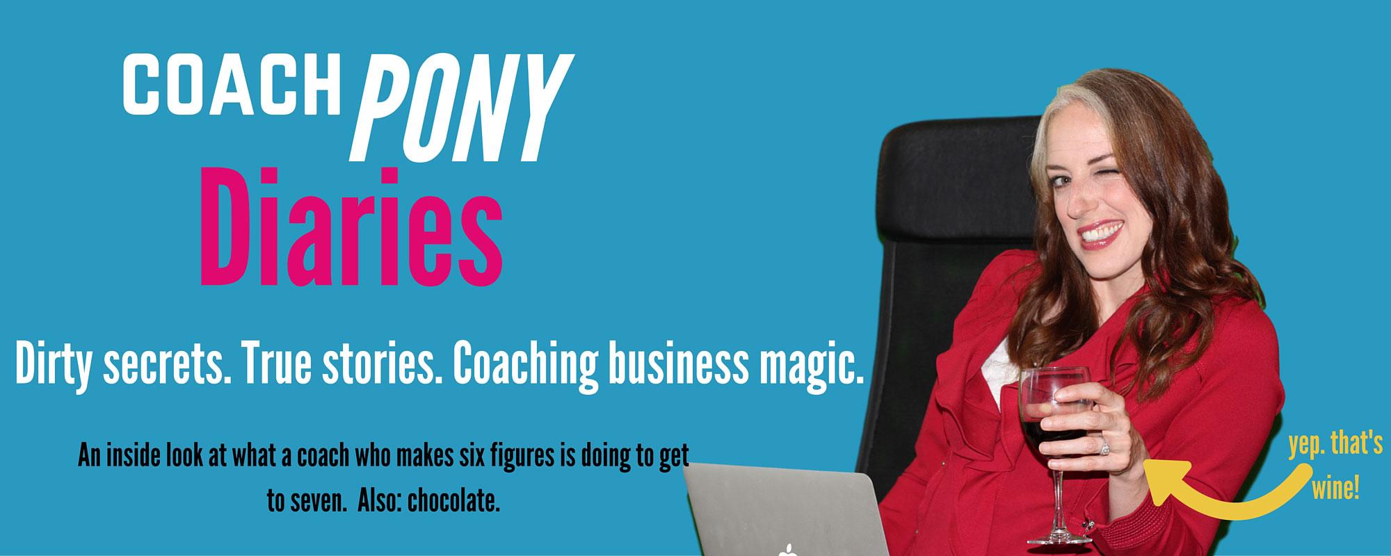 Coach Pony Diaries