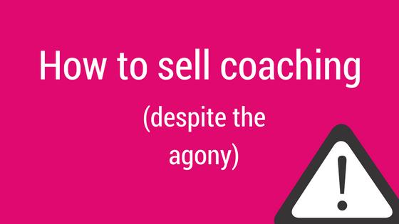sell coaching