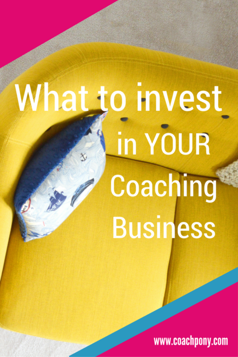 Wondering how much to spend? Here's what to invest in your coaching business!