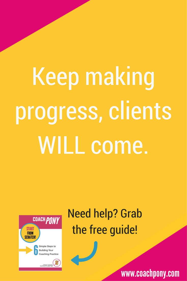 6 steps to get more coaching clients