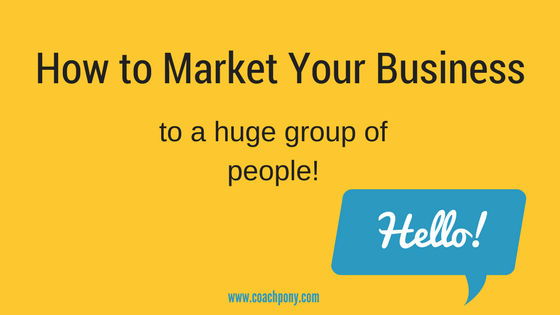 How to really market your business
