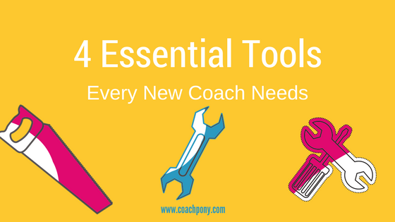 4 tools every new coach should use