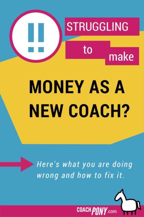 Struggling to make money as a coach? How to make money | Sales tips