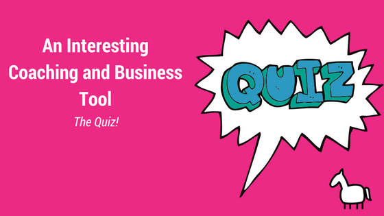 Quiz as a business tool