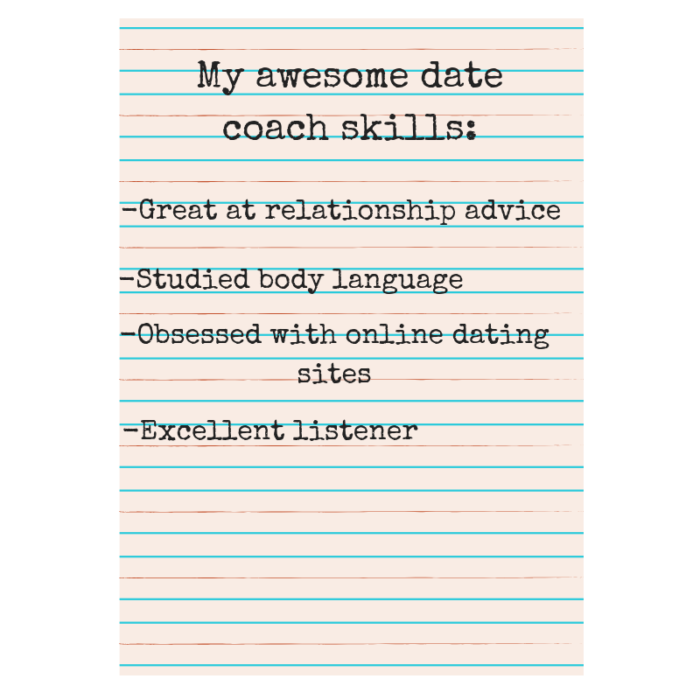 how to become a date coach