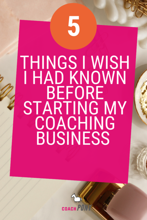 things to know before starting a coaching business