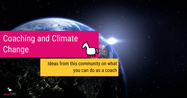 climate change ideas for life coaches
