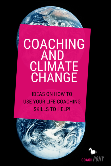 Coaching and climate change