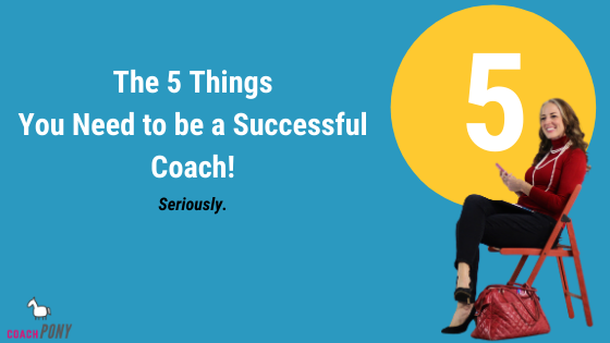 coach pony 5 business systems for life coaches