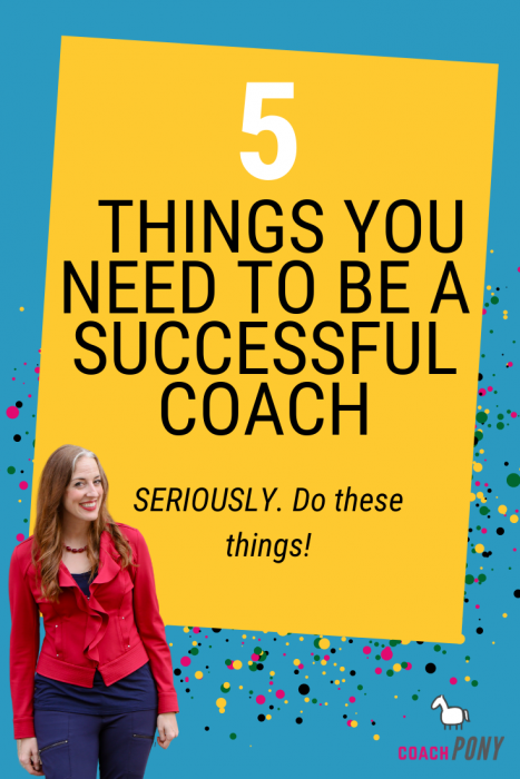 5 things to be successful as a coach