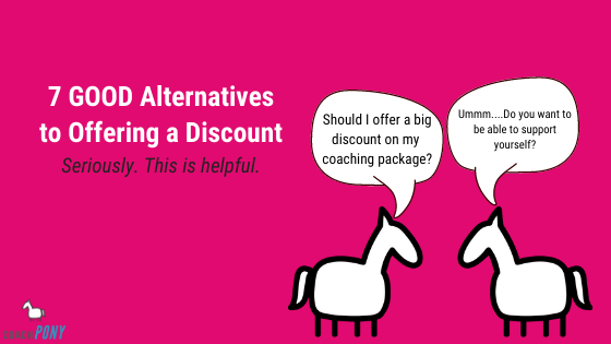 coaching discount on packages